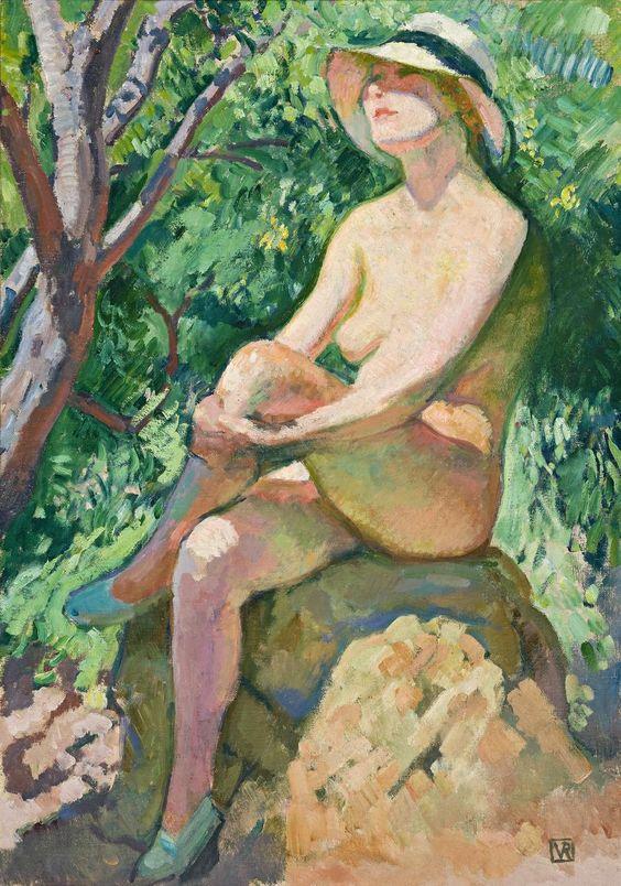 Théo+Van+Rysselberghe+1862-1926+-+Belgian+painter
