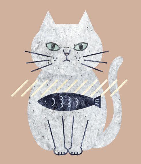 ネコキャラクター ネコ イラスト 猫のイラスト ネコ イラスト おしゃれ