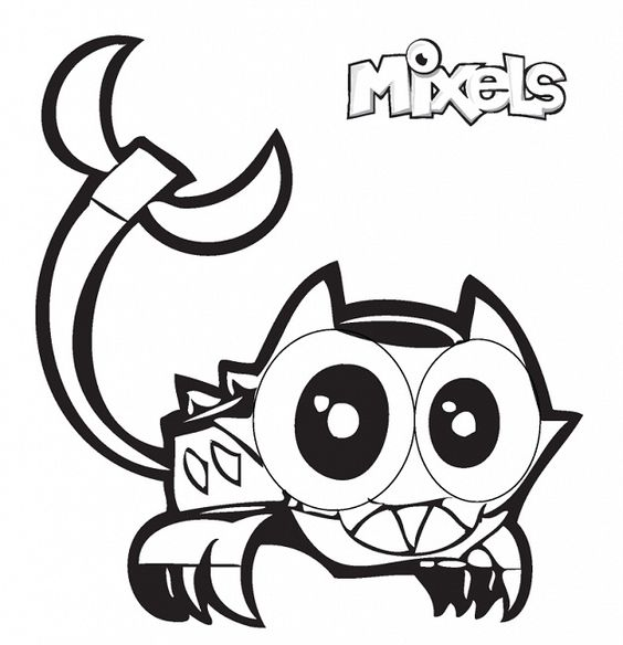 mixels coloring pages to print - photo#22