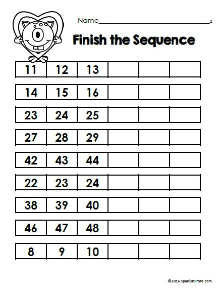 math worksheet : free math worksheets for february bilingual matematicas hojas  : Math Worksheets For Kindergarten And First Grade