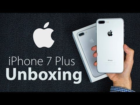 Apple iPhone 7 Plus Unboxing iPhone 7 Plus Gold Unboxing First Look 2017 | Apple  iPhone 7 Plus Unboxing & Review 2017 | Pinterest | Apples and Jets