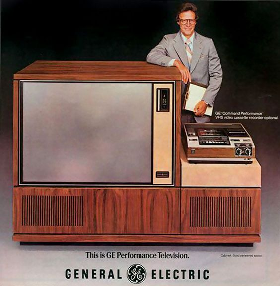 TV size has really come down since 1978