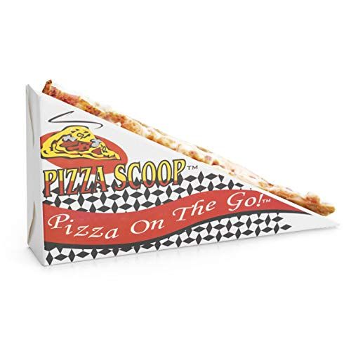 Pizza Scoop Folded Pizza Slice Holder For Eating Pizza On The Go Paper Pizza Plate Box For Fairs And Drive Thrus Https Food Eat Pizza Pizza Pizza Slice