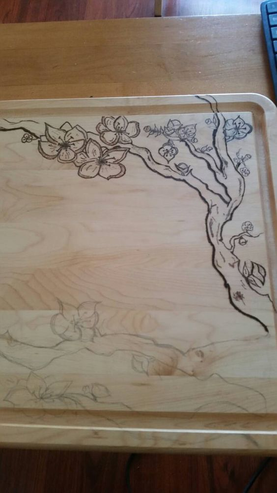 Check out this item in my Etsy shop https://www.etsy.com/listing/235704843/cherry-blossom-personalized-large