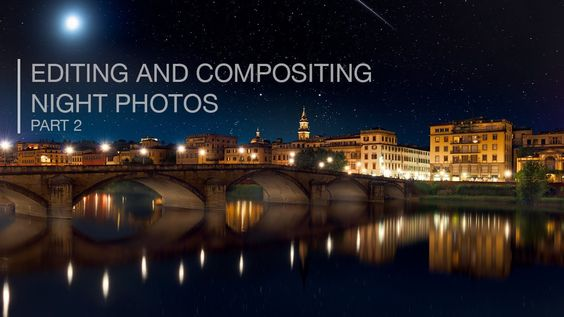 Landscape Photo Compositing and Editing in Photoshop - Part 2 (+playlist)