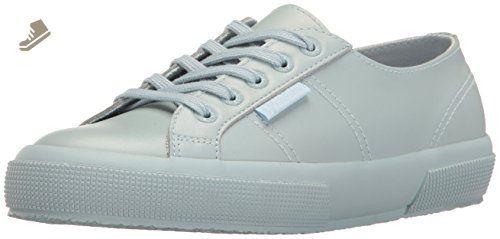 2750 Lame, Sneakers Basses Femme - Noir - Noir - 39.5 EUSuperga