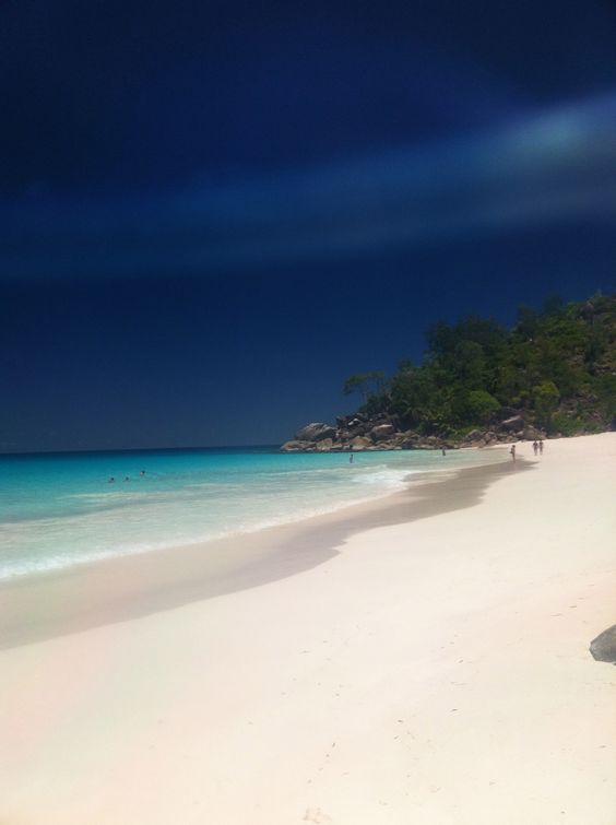 Anse Lazio beach, Seychelles, Africa:
