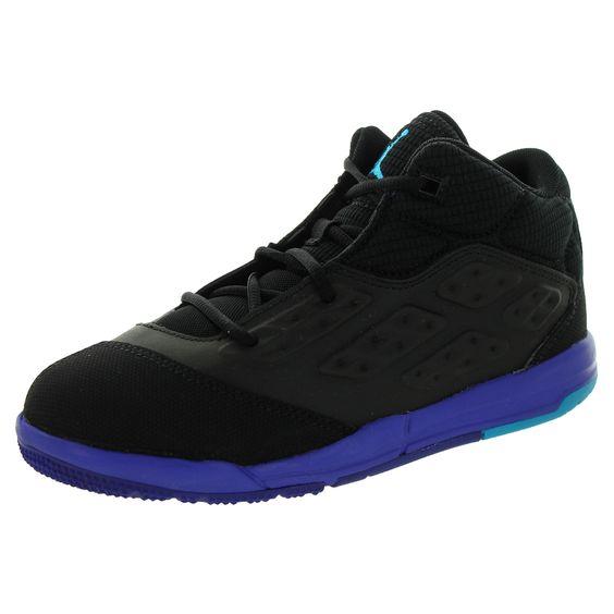 Nike Jordan Kid's Jordan New School Bp /Blue Laggon/d Basketball Shoe