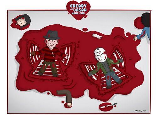 A Horror-Love Story: Freddy and Jason