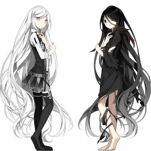 Anime Girl Twins With Black Hair Pictures ... - Photobucket