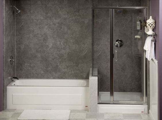 Small Soaking Tubs With Shower