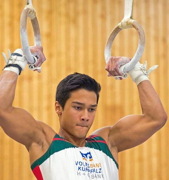 Daniel Morres, German gymnast and model
