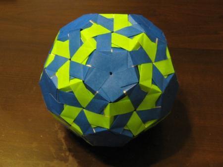 ハート 折り紙 ユニット折り紙 サッカーボール : jp.pinterest.com