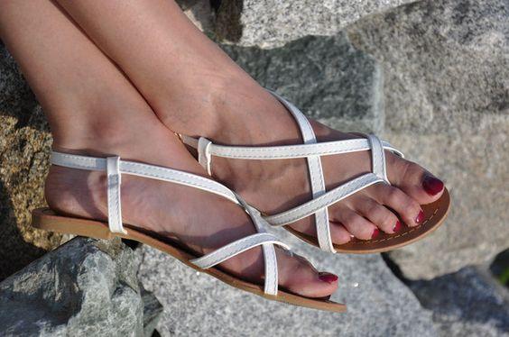 Sommer Endspurt Outfit Bikini Kimono Shorts Sandalen Strand Modeblog Fairy Tale…
