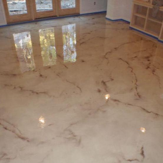 Boden Bodenbeschichtung Fussboden Bodenbelag Massgeschneiderte Bodenbeschichtung Fur Jeden Lebensraum K In 2021 Metallic Epoxy Floor Concrete Stained Floors Epoxy Floor