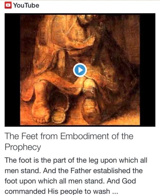 The Feet from Embodiment of the Prophecy http://www.andrewtheprophet.com/11301/260656.html