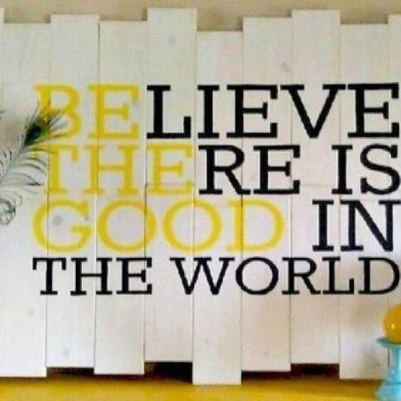Cute!  Be the good