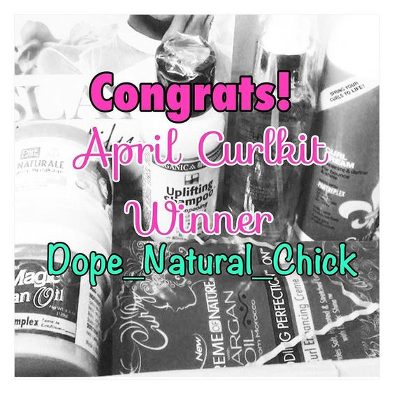 Help me CONGRATULATE @dope_natural_chick she is the winner of my #aprilcurlkit giveaway Don't forget you get another chance to win this month when I unbox and compare the May Curlkit & Curlbox so make sure to subscribe to my YouTube channel (link in bio) so you'll have a chance to win  #naturalhaircommunity #naturalhairgiveaway #curlkit #naturalhairproblems #naturalhairproducts #youtuber #naturalhairyoutuber #curlbox #youtubegiveaway #teamnatural #naturalhair #naturalhairtips by poshurbanite