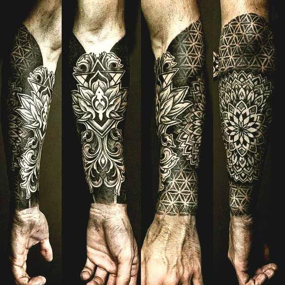 Mandala Forearm Sleeve Tattoos Cool Forearm Tattoos Geometric Forearm Tattoo Designs Forearm Tattoo Design