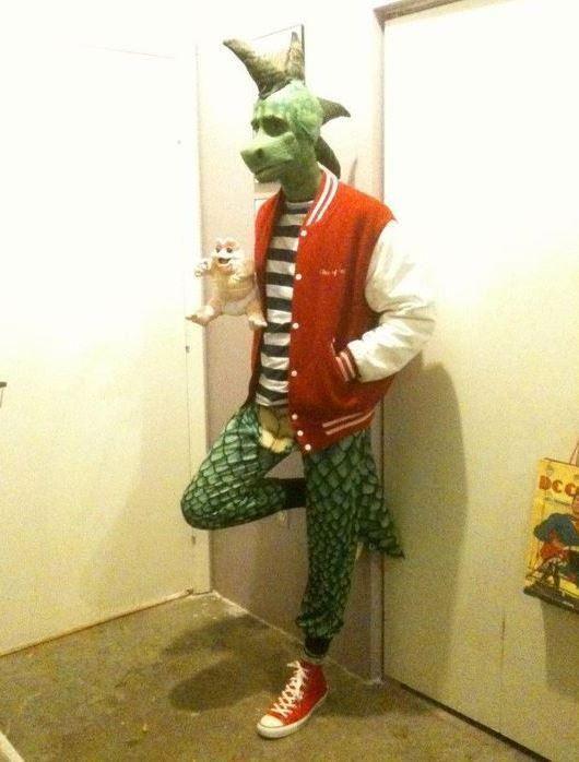 Baby Sinclair Halloween Costume