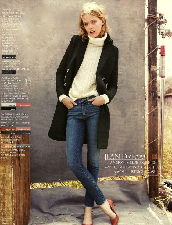 This was my favorite page in the fall J.Crew catalog.