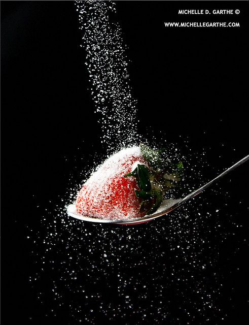 Strawberry sprinkles by Michelle Garthe