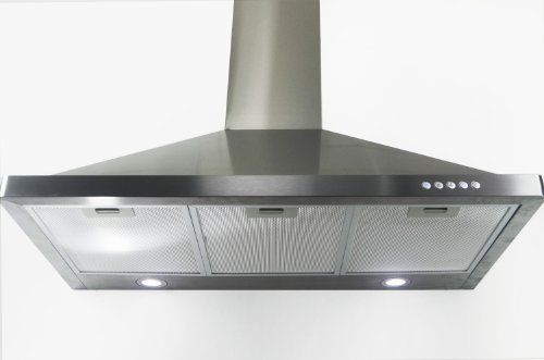 "AKDY 36"" wall mount range hood AZ63190 Stainless Steel"