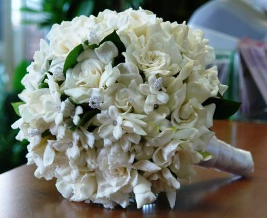 Bridal Bouquet Gardenias and Stephanothis TFM-WB188   Should always include these 2 fragrances