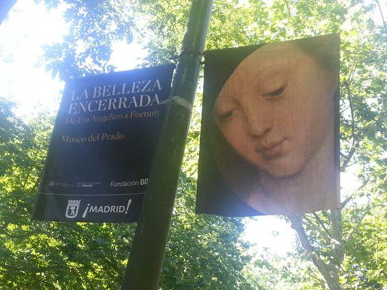 "Cartel Expo de "" La belleza encerrada "" del Museo del Prado #Cartel Madrid #Affiche #Arterecord 2013 https://twitter.com/arterecord"