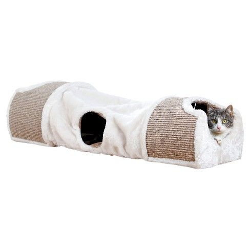 Trixie Pet Products Plush Nesting Tunnel For Cats Target Cat Tunnel Cat Scratcher