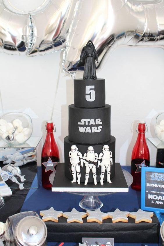 Comment organiser un anniversaire Star Wars ? Les 5 ans du padawan Noah