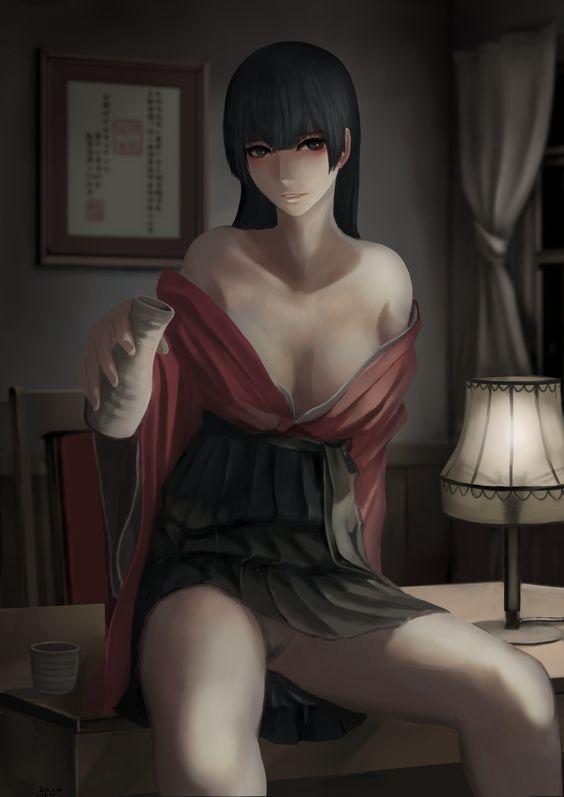 「晩酌」/「ジッツ」のイラスト [pixiv]