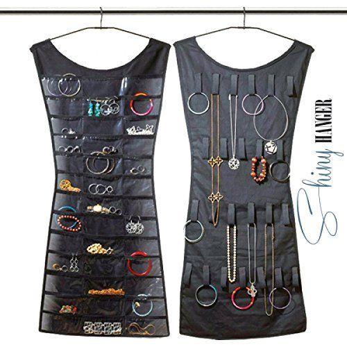 Vestito portagioielli organizer abito doubleface collane anelli e orecchini…