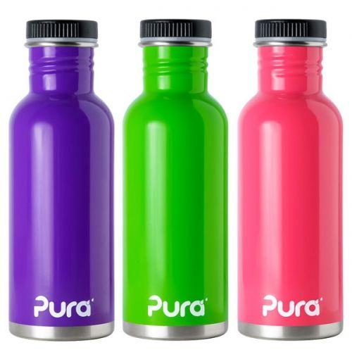 Purakiki Flasche mit Schraubverschluss 600ml