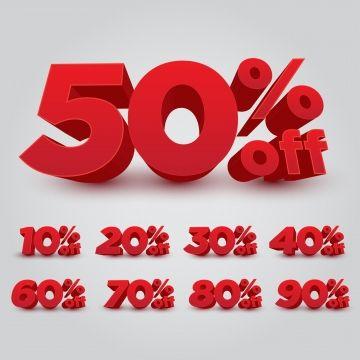 Discount Vendre 3d Off Red Pourcentage Prix Business Offrir Annee Promotion Acheter Nombre Nouveau 30 W Vector Illustration Free Graphic Design Banner Design