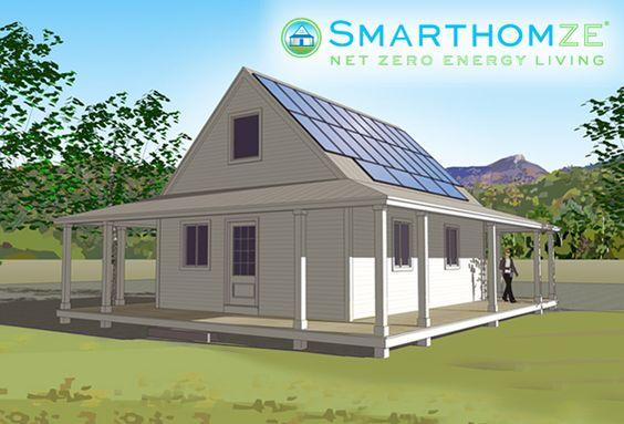 Zero Net Energy Kit Homes From Vantem Panel Smarthomze