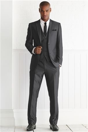Charcoal Slim Fit Suit | Stuff to Buy | Pinterest | Shops, Uk