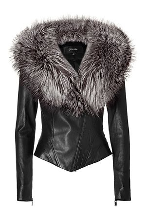 Leather and Faux Fur = perfect