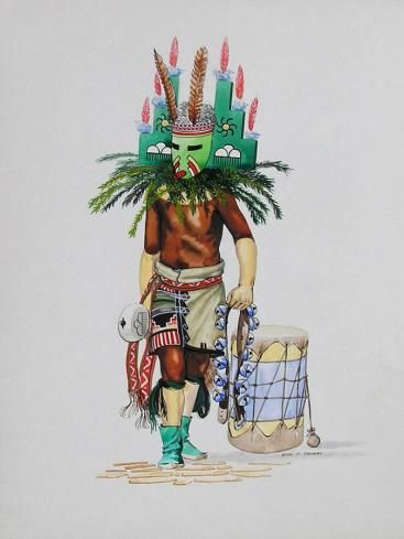 """Santo Domingo Kachina"""