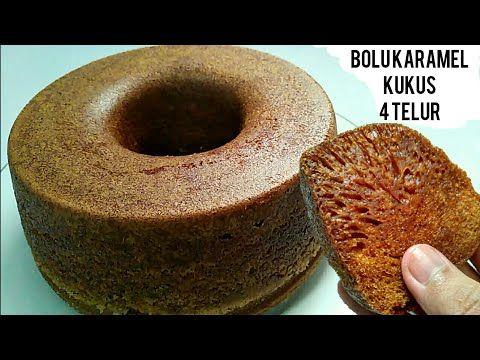 4 Telur Tanpa Oven Bolu Karamel Kukus Kue Sarang Semut Kukus By Uli S Kitchen Youtube Caramel Cake Bolu No Bake Cake