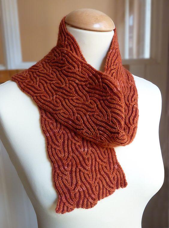 Knitting Nancy Patterns : Brioche scarfs and nancy dell olio on pinterest