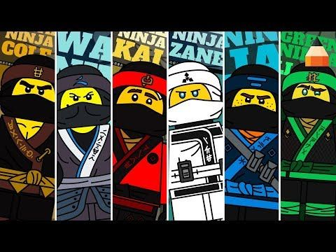 Jak Narysowac Lego Ninjago Animacja Rysowania Dla Dzieci Youtube Lego Coloring Pages Lego Coloring Lego Ninjago