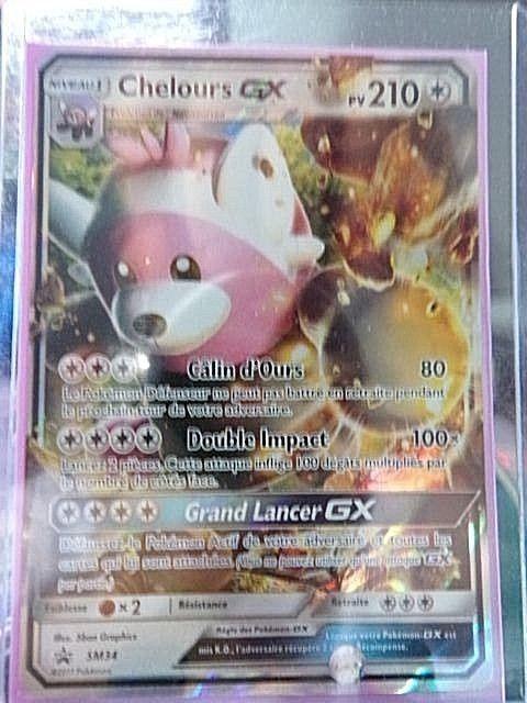 Carte Pokemon Chelours Sm34 Promo Pokebox Soleil Et Lune Gx Fr