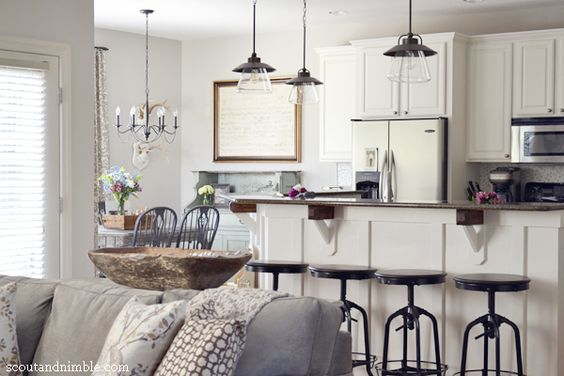 white-kitchen-cabinets-gray-walls