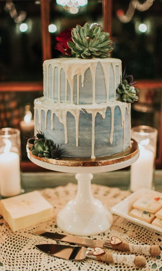 25 Drip Wedding Cakes for Some Mouthwatering Inspo