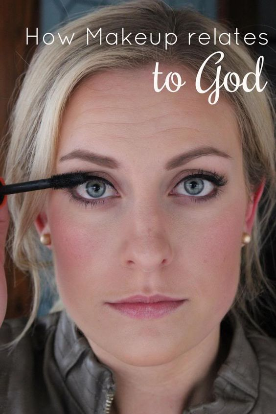 Katie in Kansas: How Makeup relates to God