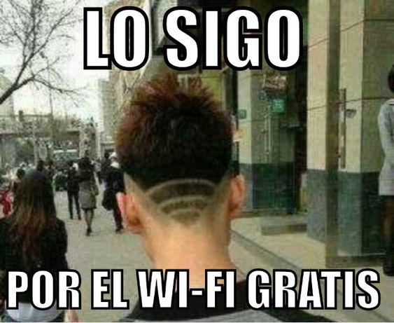Lo sigo por el WiFi gratis