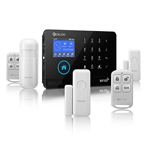 Discounted Digoo Dg Hosa 433mhz Wireless 3g Gsm Wifi Home And Business Security Alarm System Diy Smart Alarm System Alarm System Smart Alarm Business Security