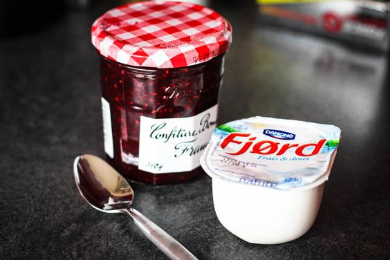 After dinner time in France, usually there would be yogurt that is served afterwords, with a variety of different options. Typically, the yogurt in France has better health benefits and doesn't contain as much sugar like most yogurts in Canada and the States.