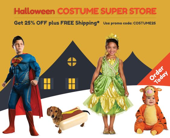 Halloween costumes com discount code / Spotify coupon code free